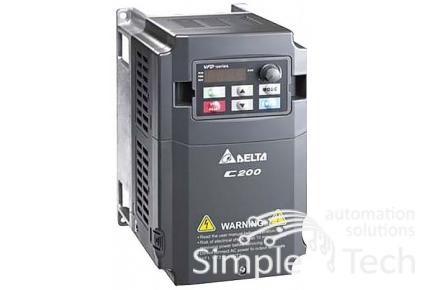 частотный преобразователь VFD040CB43A-20