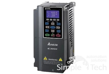 частотный преобразователь VFD055C43E